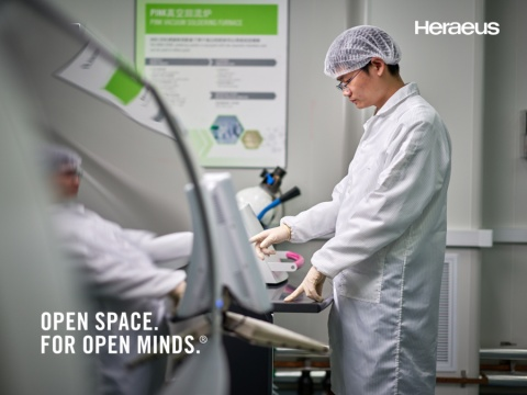career opportunities and business information at: Heraeus Holding GmbH