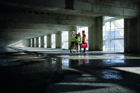 career opportunities and business information at: Hilti