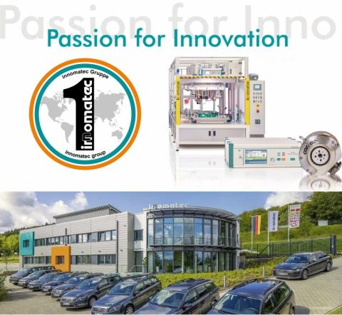 career opportunities and business information at: innomatec Test- und Sonderanlagen GmbH