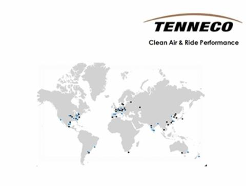 career opportunities and business information at: TENNECO China