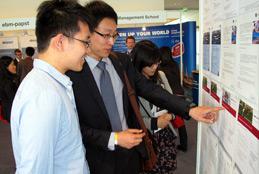 Jobwall at job fair CHINESE TALENT DAYS