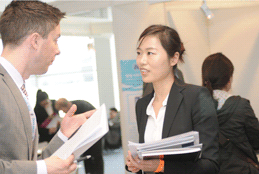 Job Fair: Chinese Talent Days: Impressions of the job fair.